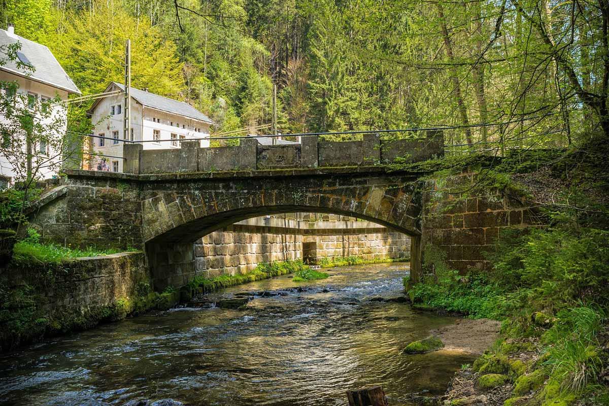 Bad Schandau - Fluss Kirnitzsch