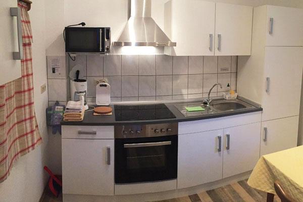 Ferienwohnung Sebnitzer Straße - Küche