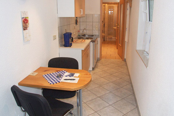 Appartement Sebnitzer Straße - Küchenzeile
