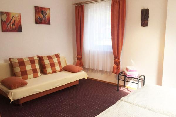 Ferienwohnung Lilienstein Rosengasse - Schlafzimmer