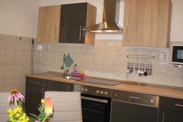 Ferienwohnung Zirkelstein Rosengasse - Küche