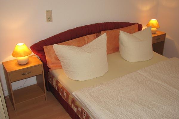 Ferienwohnung Zirkelstein Rosengasse - Schlafzimmer