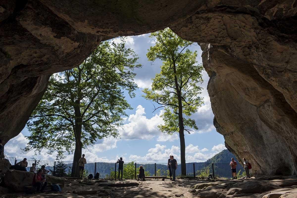 Der Kuhstall in der Sächsischen Schweiz