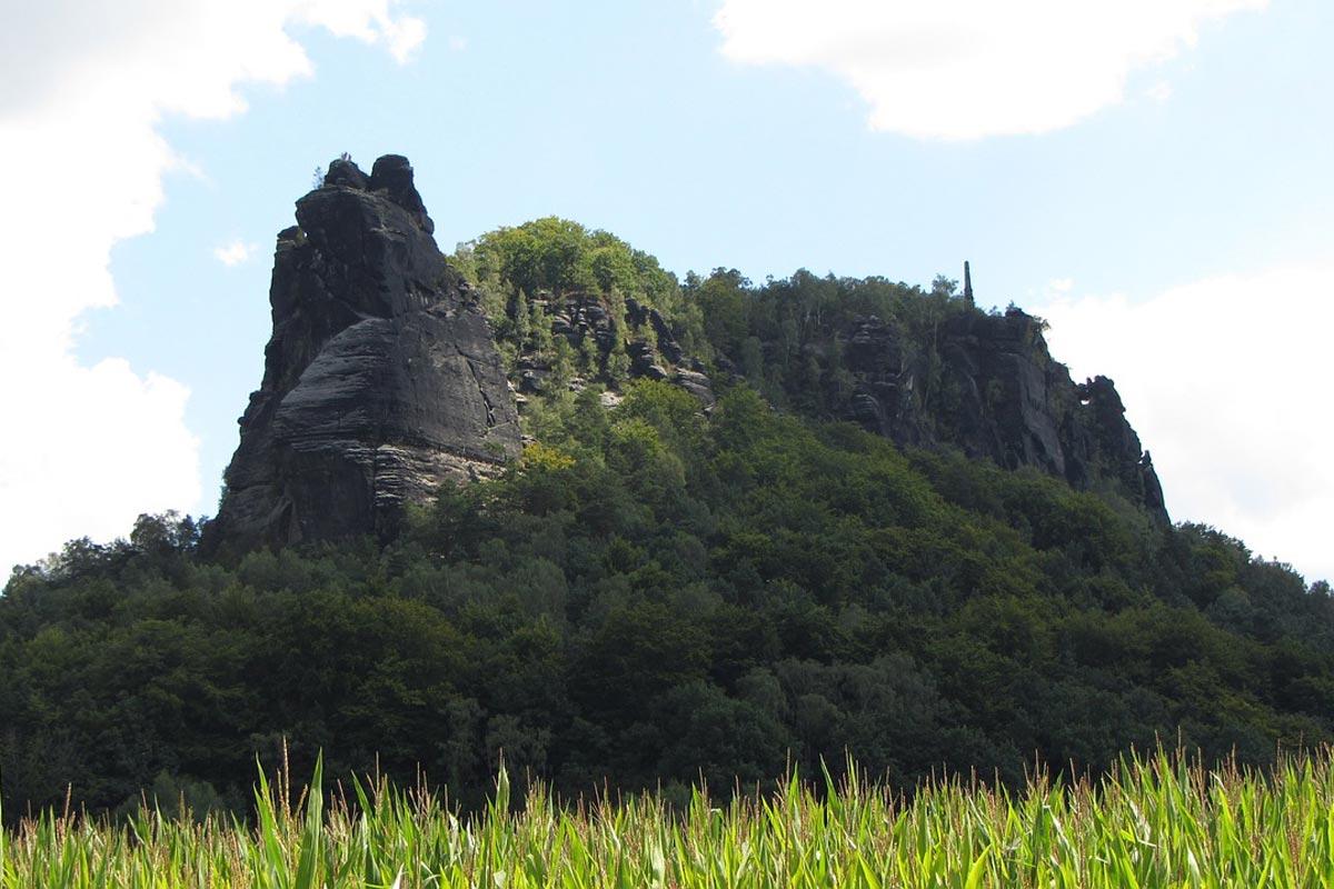 Der Lilienstein in der Sächsischen Schweiz